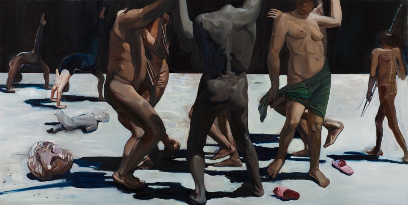 wang-zhibo-dancing-is-better-2015-oil-on-linen-78-5x90cm
