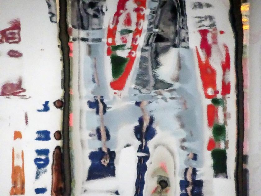 Chou - White Red Blue & Green #1 - 2016 (CHOU00153)