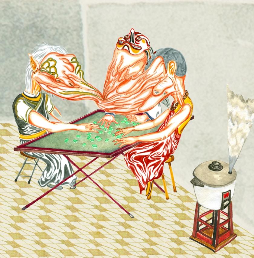 Mahjong Room Print.psd