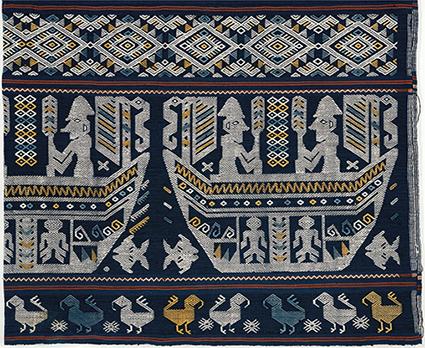Raja Umbu, skirt with Kadu motif, 2010