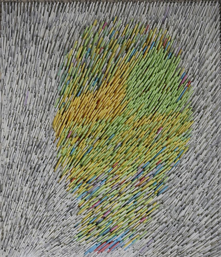 SUH Jeong-min, Shout-13, 2017, 116x91cm