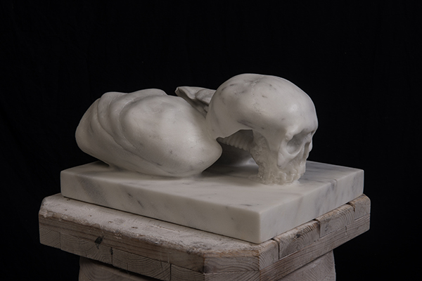 Santo Spirito, marble, 29x40x35 cm, 2015-2016